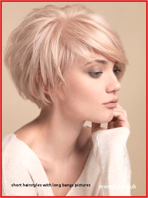 Layer Haircut at Home with 27 Short Hairstyles with Long Bangs