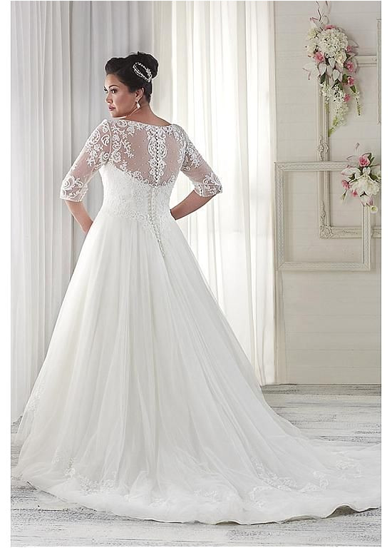 V-neck Wedding Dress Hairstyles Buy Discount Fabulous Tulle V Neck Neckline A Line Plus Size Wedding
