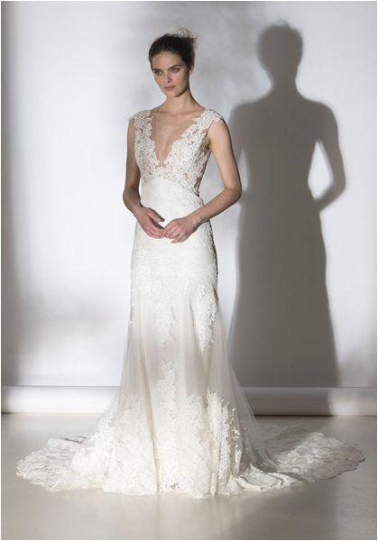 V-neck Wedding Dress Hairstyles Lace V Neck Wedding Dress Hairstyle In 2018 Pinterest