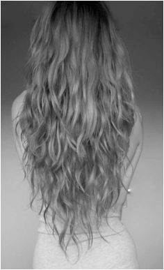 v cut with long layers on naturally wavy hair Wavy Hair With Layers V Cut