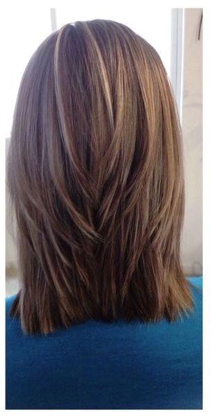 Triangular layers Medium Hair Cuts Hair Layers Medium Medium Hair Styles Curly Hair