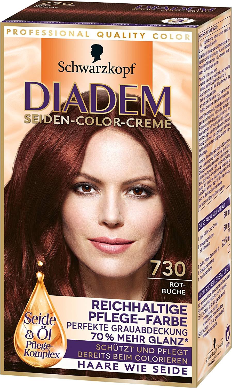 Diadem Seiden Color Creme 730 Rotbuche 3er Pack 3 x 142 ml Amazon Beauty