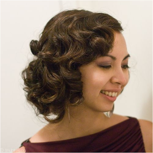 Pin curls I was born in the wrong era