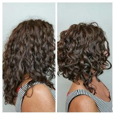 awesome curly a line bob Google Search