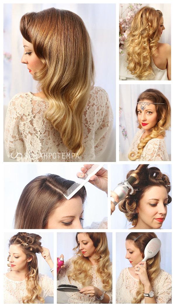 Guest Post Vintage Inspired Hair from Sarah Potempa