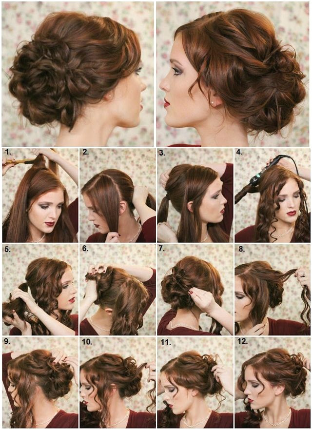 Wedding Guest Hairstyles Diy How to Make A Fancy Bun Diy Hairstyle