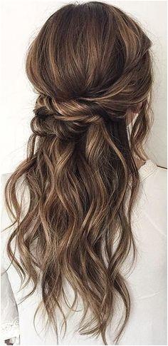 Schöne süße Easy Frisuren 2018 haarband hochzeit einfachefrisuren weddinghairstyles langehaare