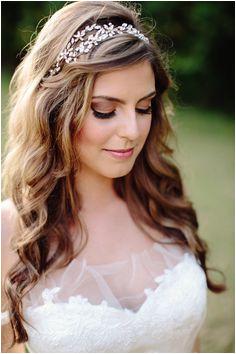 DIY by bride Headband by Untamed Petals for BHLDN Diy Wedding Hair Down