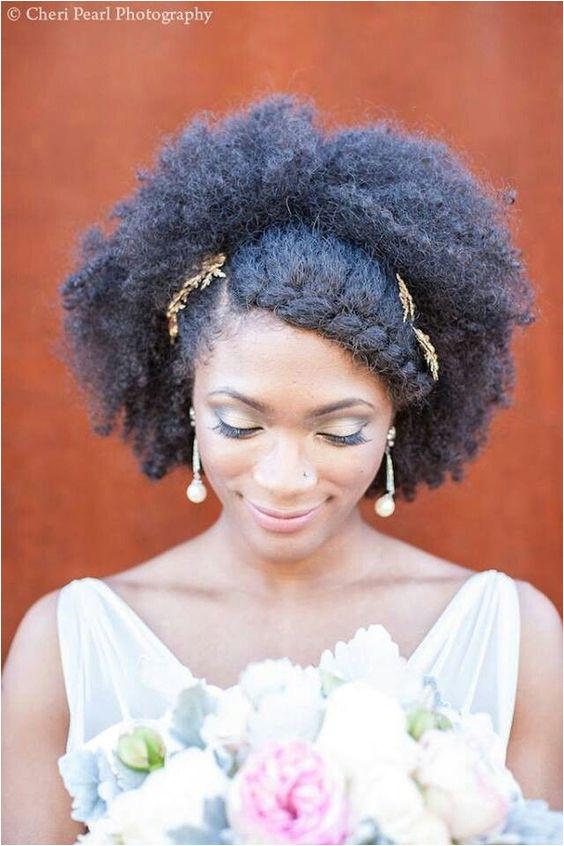 Natural Hair Bridal Styles bridal hairstyles