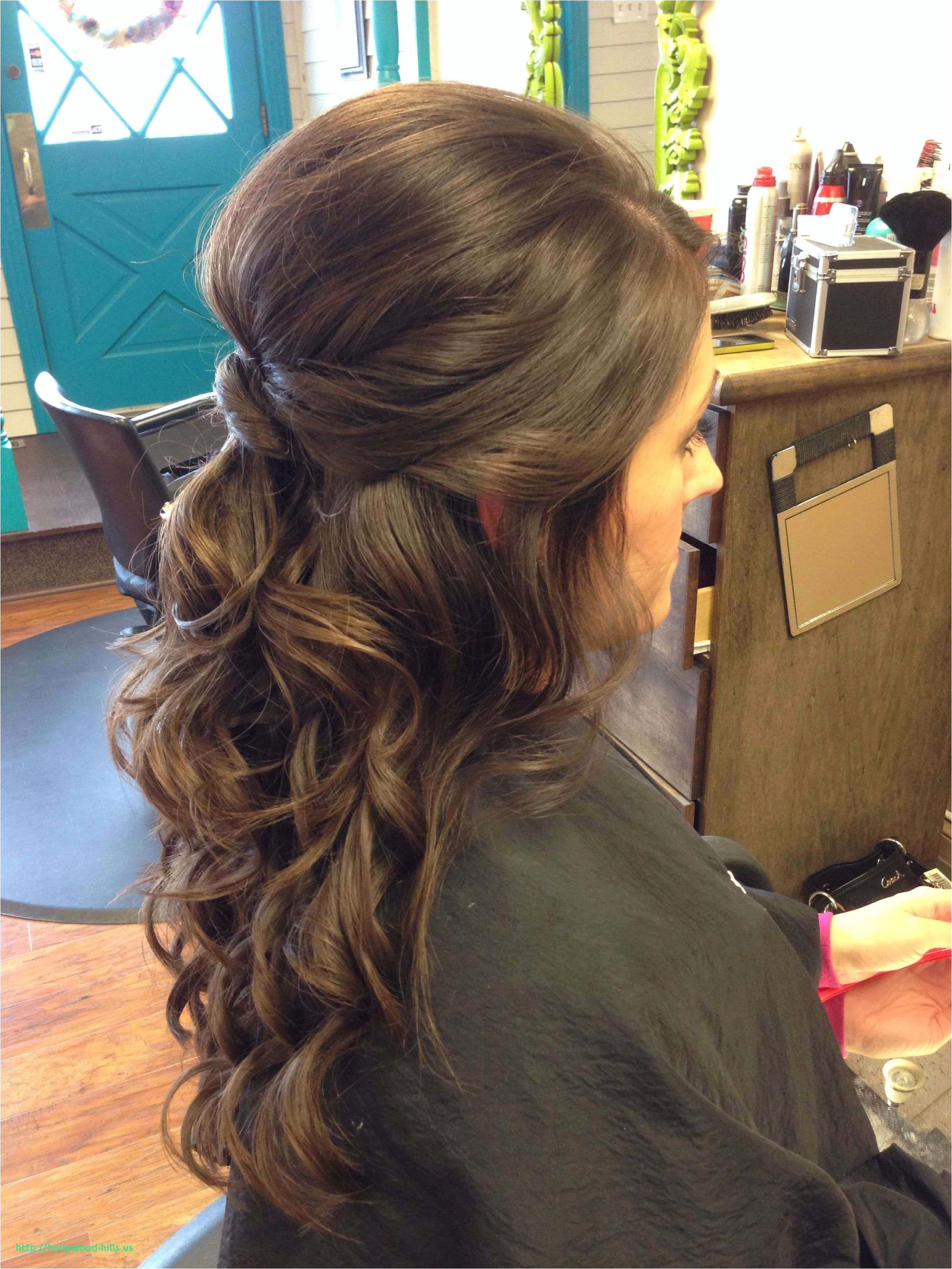 Half Up Wedding Hairstyles Fine Half Updos For Medium Hair 2018