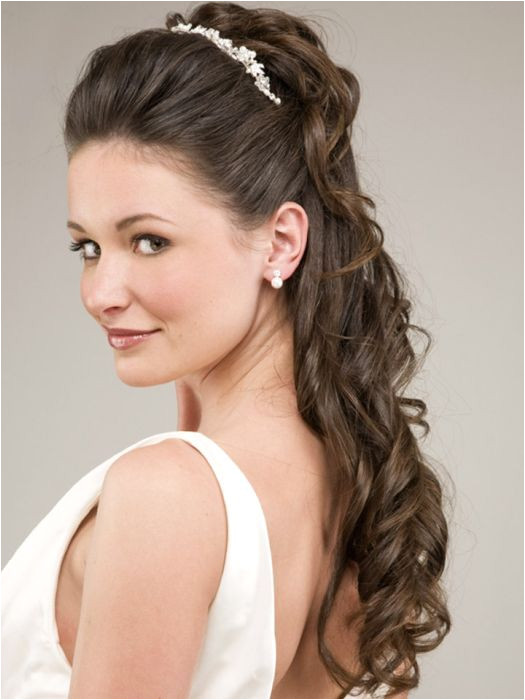 Wedding Hairstyles For Medium Hair Half Up 525