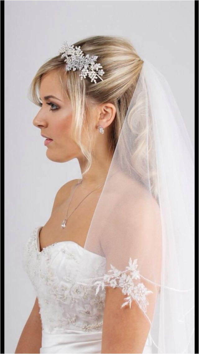 Wedding Hairstyles With Veil Bride Hair Updo With Veil Wedding Hairstyles Veil