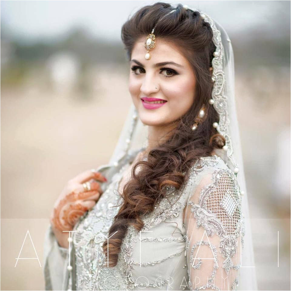 Pakistani Bridal Hairstyles For A Perfect Look 2