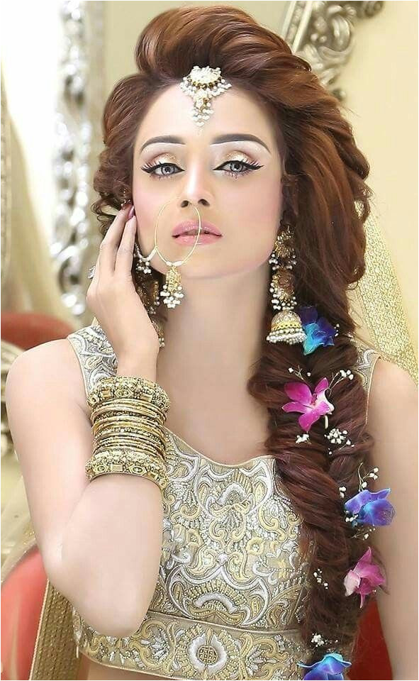 Beautiful girl Indian Bridal Makeup Pinterest