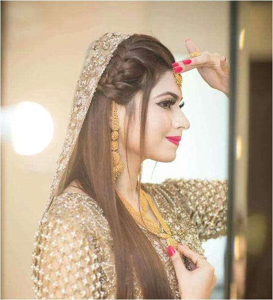 Beauty love the hair 😍😍😍😍😍 via ✨ Pakistani Bridal