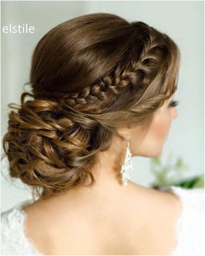 15 Most Beautiful Low Updos for Quinceaneras Braided Wedding HairstylesUpdo