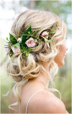 28 Wedding Hairstyles With Flower Crowns We LoveWedding Decor Ideas Page 2 weddinghairstyles weddingcrowns