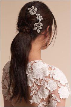 Alvarie Headpiece from BHLDN Romantic Wedding Hair Rapunzel Wedding Hair Accessories Makeup Hairstyle