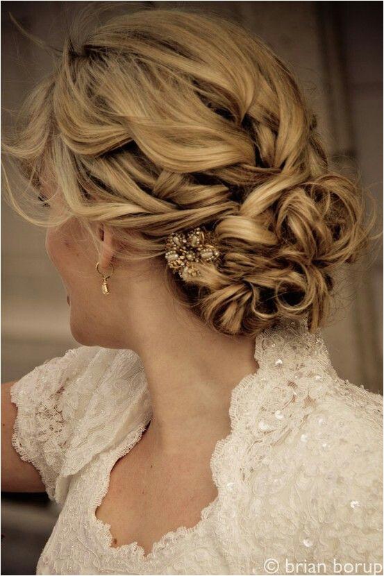 Beautiful wedding hair effortless not full of hairspray