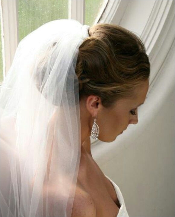 new haircut hairstyle trends wedding hairstyles with veils Elegant Wedding Updo With Veil