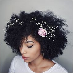 Love this look for a special occasion like a wedding Natural Hair