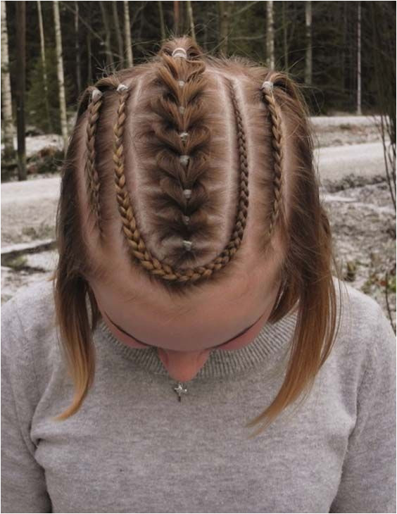 The best hair option for little girls hairstyles are braids because of they are easy to wear and also look cutest for them Here we ve collected some