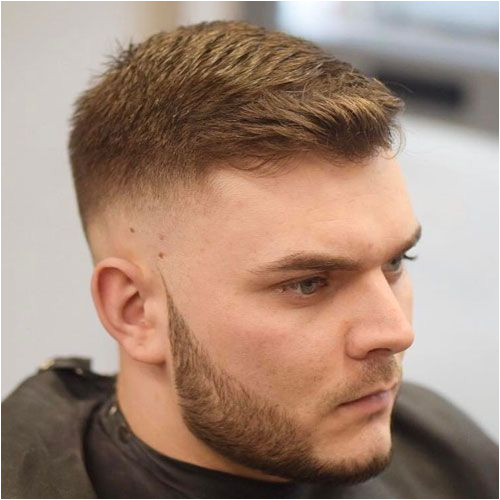 Side Part with High Fade