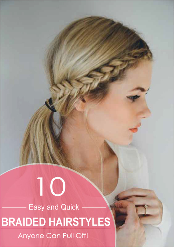 This is an easy and unique style containing only two twists two braids and the rest of your hair tucked for a cute updo look Braids can be anything such