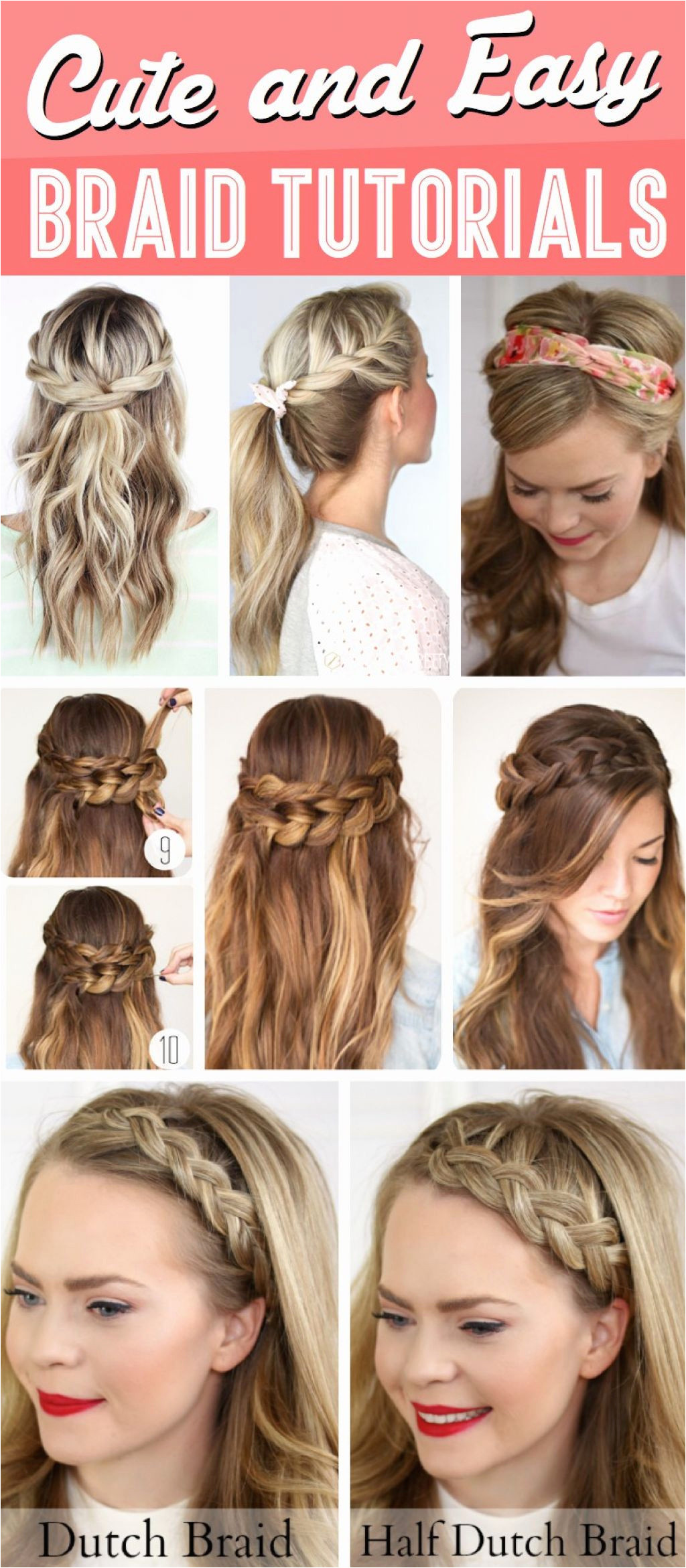 10 Easy School Hairstyles for Short Hair Cute Quick Hairstyles for School