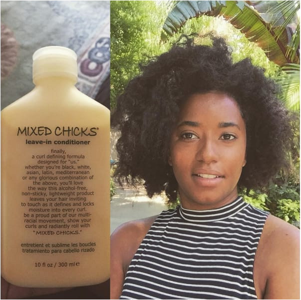 A leave in conditioner that keeps curls intact without weighing them down