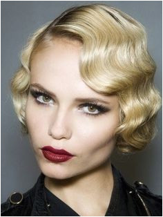 Finger wave bob csnt find many people that want to do finger waves I asked about them the other day and the guy was lost Finger Wave Hairstyle