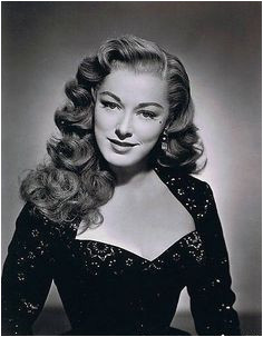 1940S Hairstyles For Curly Hair 1940s curly hairstyles hairstylesforcurlyhair Vintage Curls
