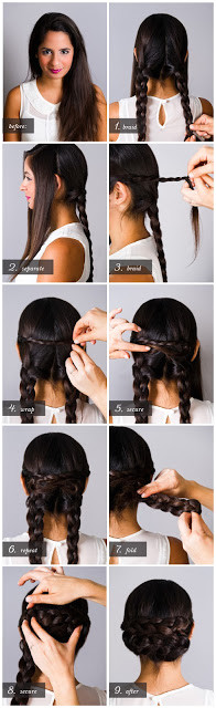 HOW TO 25 Easy Hairstyles With Braids
