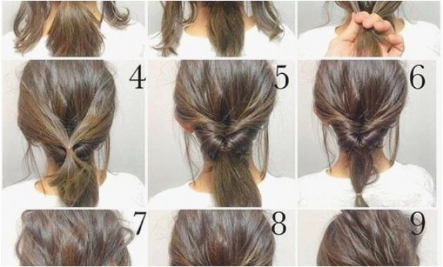 """Quick and Easy Hairstyles Easy Hairstyles for Short Hair Hd Short Hair Bun Styles Pun"""""""