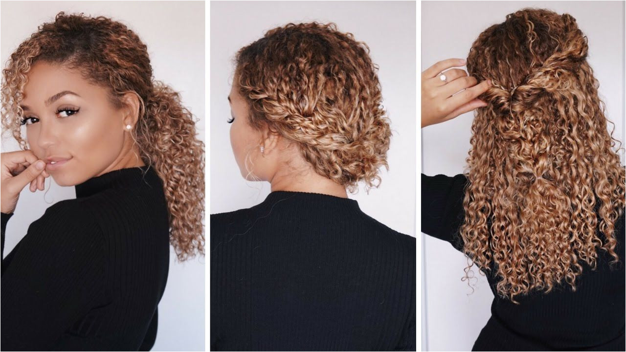 Short 3c Curly Hairstyles New 3 Super Easy Hairstyles for 3b 3c Curly Hair