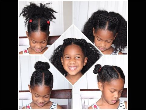 9 Back to School Young Natural Hair Children Hairstyles Natural Power of HER 4 EASY