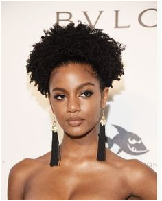 Ebonee Davis Is the Latest Black Model Asked to Change Her Natural Hair