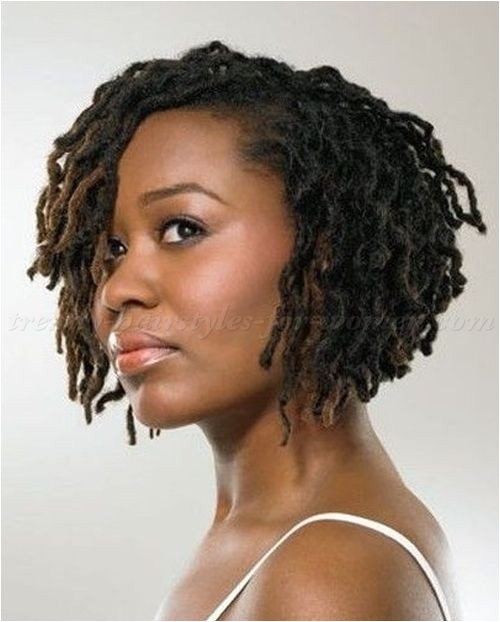 afro braid bob hairstyle Can t wait until my locks this long