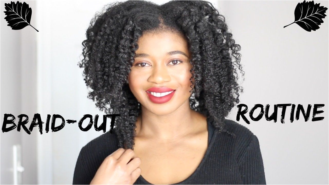 My Braid Out Routine