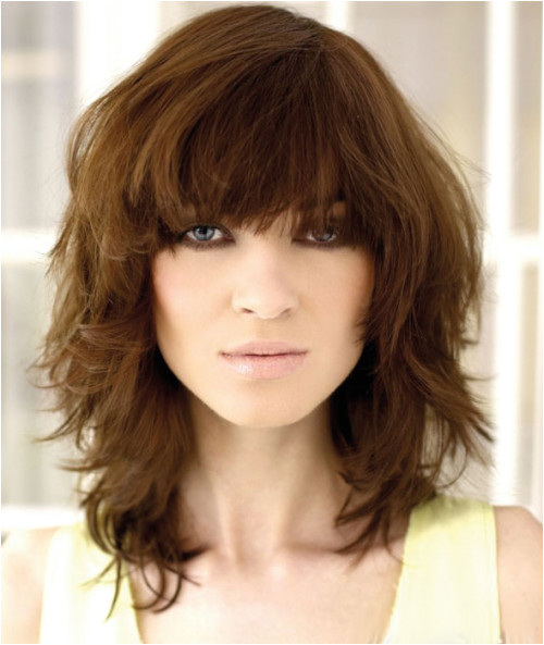 medium shag curly haircut