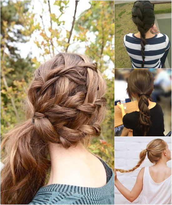 5 e Minute Basic Ponytail Hairstyles Tutorial for Daily Style
