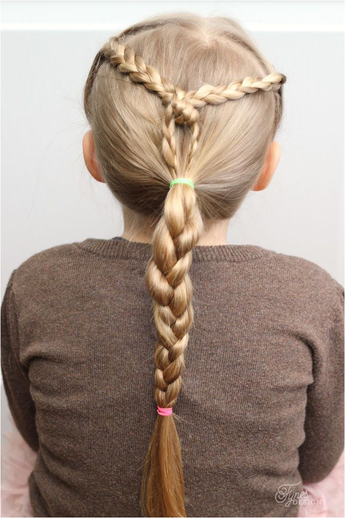 Easy Hairdos for Girls perfect 5 minute dos for school days