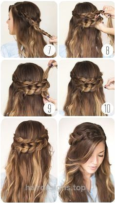 nice 9 Step By Step Hairstyles Perfect For School Quick Easy Cute and