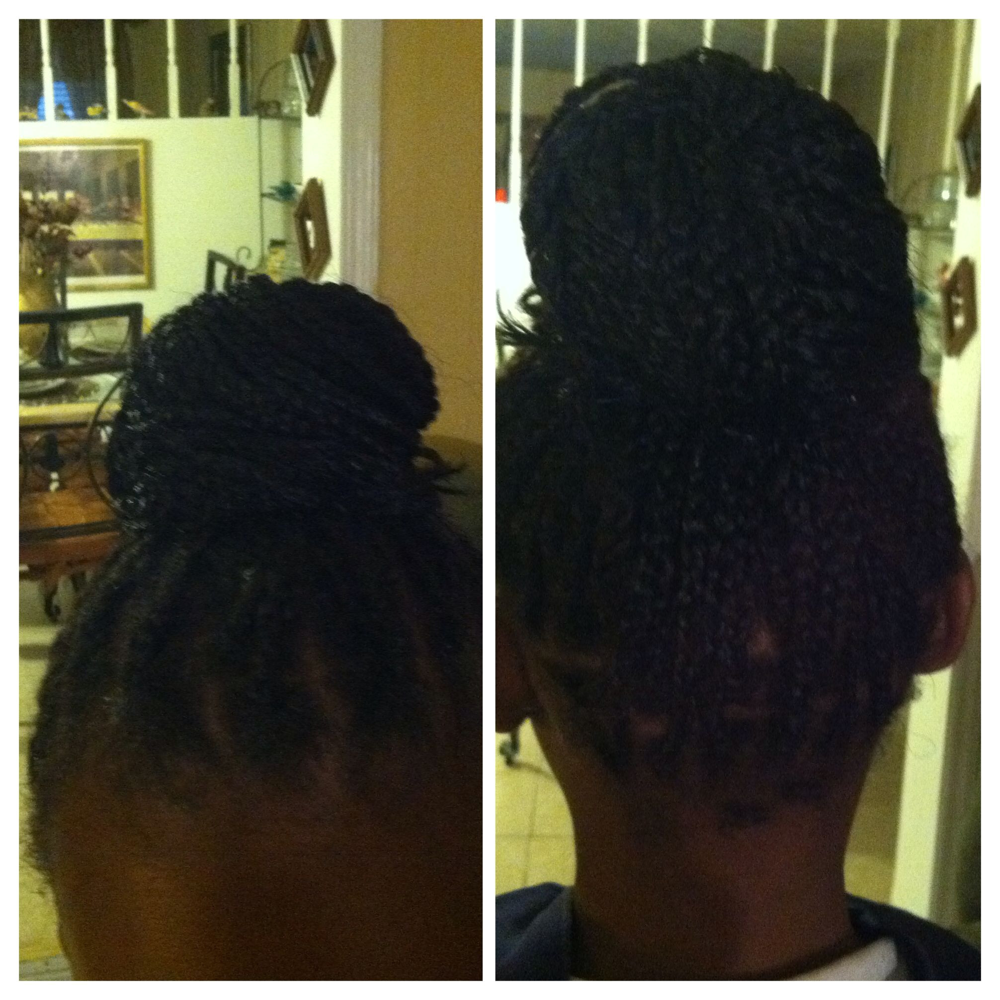 Box braids on a 9 year old the style is cute and not to grown