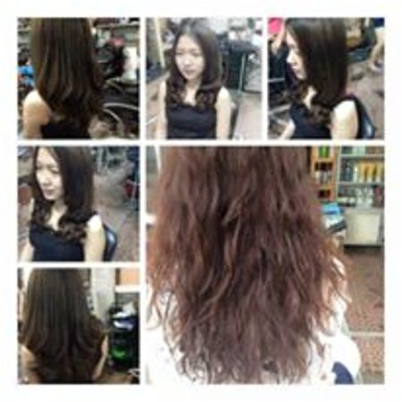 Hair Salon and Spa Angel Nguyen Thu curly hair before after