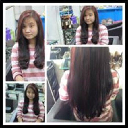 Hair Salon and Spa Angel Nguyen Thu curly hair bu nano