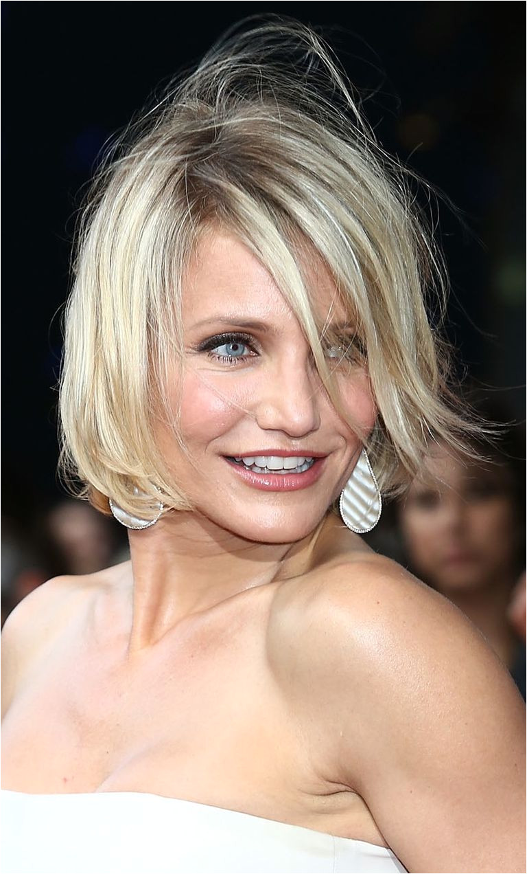 The Best Bobs for a Round Face