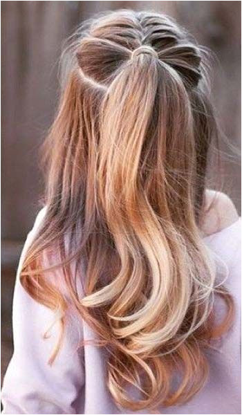 Easy hairstyle for party