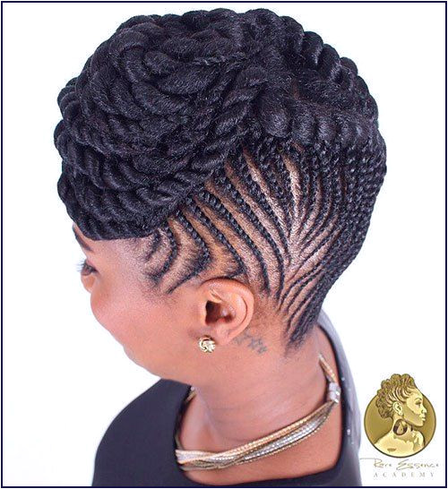 African American Flat Twist Updo Hairstyles Beautiful 20 Hottest Flat Twist Hairstyles for This Year