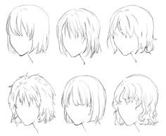 anime boy hairstyles Google Search …